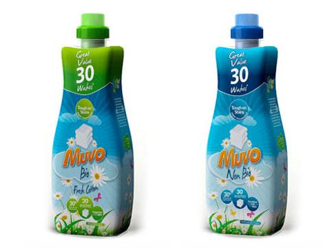 packaging design leeds pure creative marketing studio laundry liquid muvo no bio