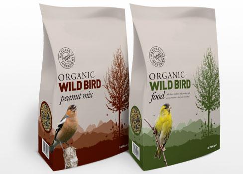 wild bird food packaging design leeds pure creative marketing pet food