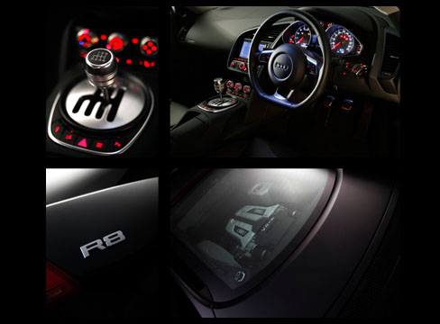 car photography aston martin studio vehicle automotive profile audi R8