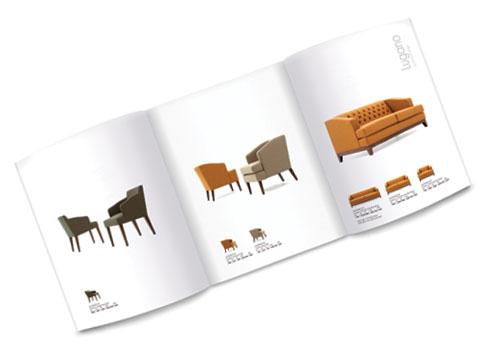 furniture brochure design � knightsbridge furniture pure