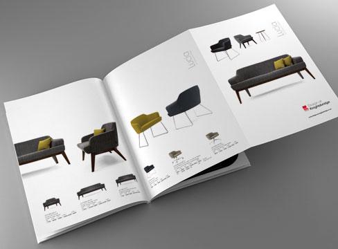furniture brochure design photography production print leeds pure creative marketing