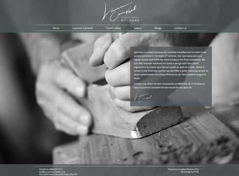 Kitchen Website Design 2