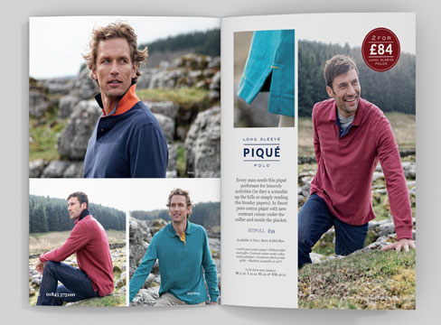 mail order catalogue design photography pure leeds