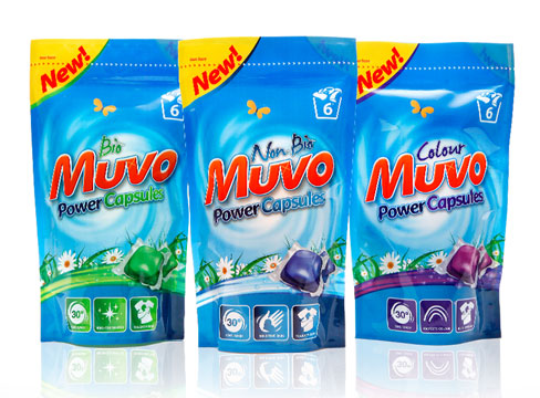 packaging design laundry liquid capsules muvo pure design leeds