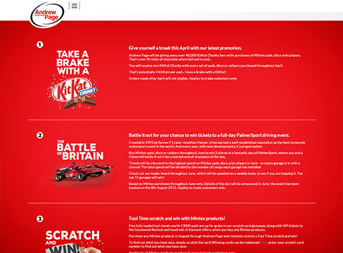 Responsive website design Andrew Page