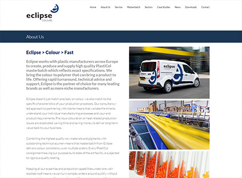 Wordpress responsive design Eclipse