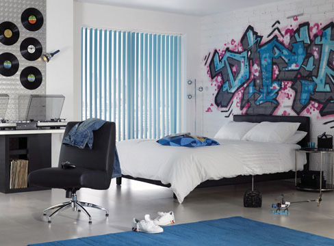 Studio roomset photography funky bedroom pure creative for Funky bedroom designs
