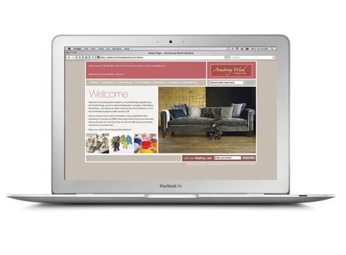 web design Armstrong Ward e-commerce shop