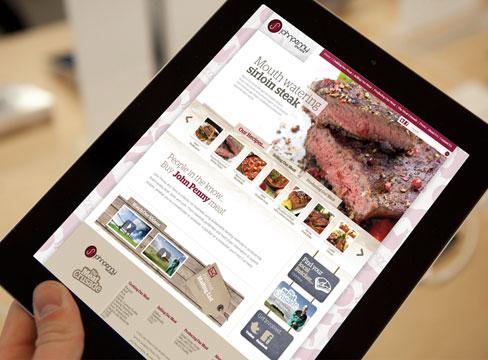 Creative menu design creativelondon packaging design for Home design agency leeds